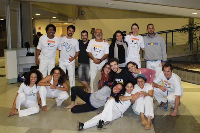 Equipe da Apresentação de Capoeira