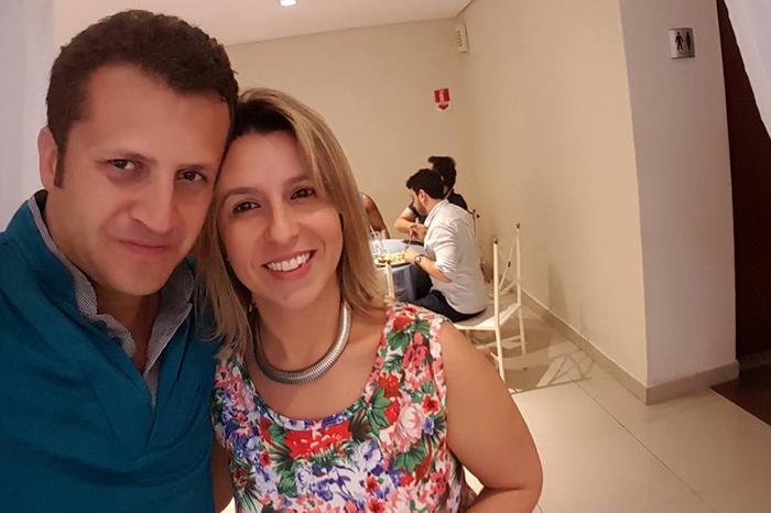 Vanderlei Reis e Milena Neves