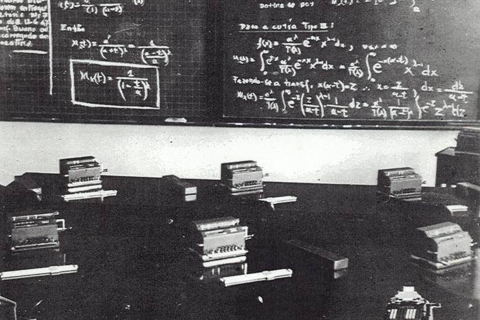Sala de aula em 1952