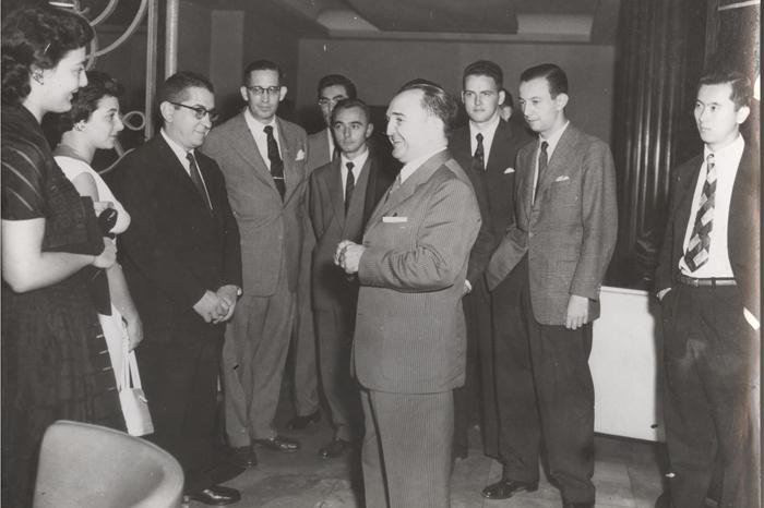 Formatura da turma de 55 em 1956