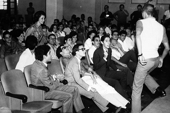Em 1965  Show do Calouro