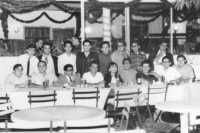 1967 - Jantar final de ano_Turma de Administração