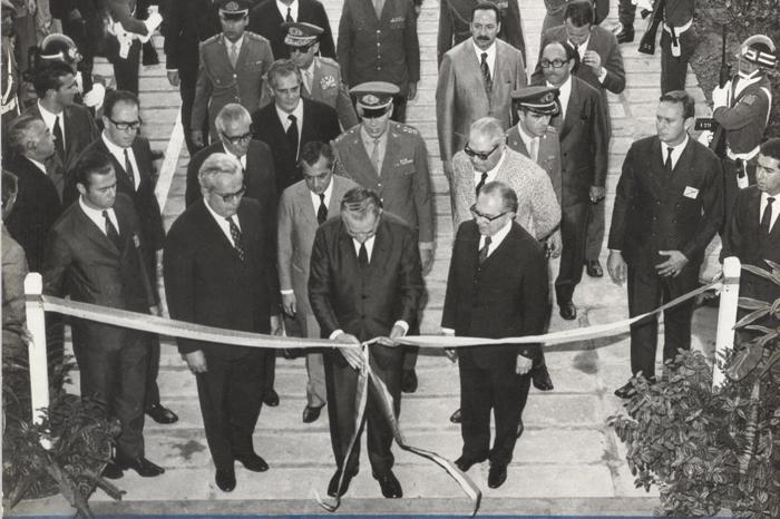 1971 - Inauguração do prédio da FEA