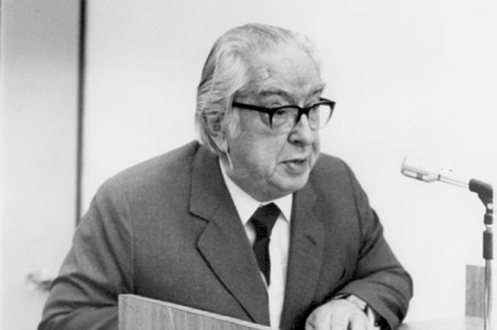 1989 - Cerimônia de Professores Eméritos_Prof. Luiz de Freitas Bueno