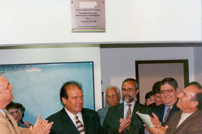 1995 - Inauguração do prédio FEA-3_Denisard Alves