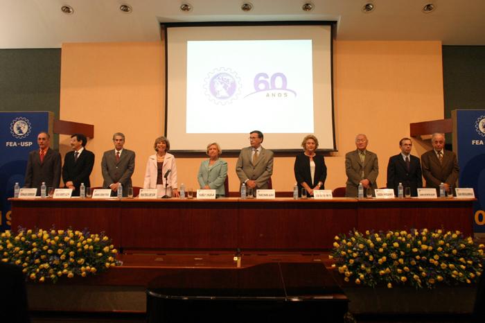 2006 - Sessão solene dos 60 anos da FEA
