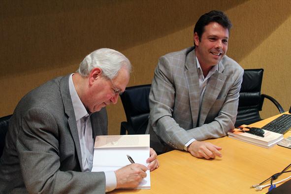 Professores Fernando Filardi e Adalberto Fischman