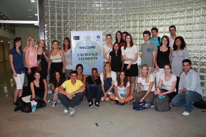 2010 - Intercambistas estrangeiros