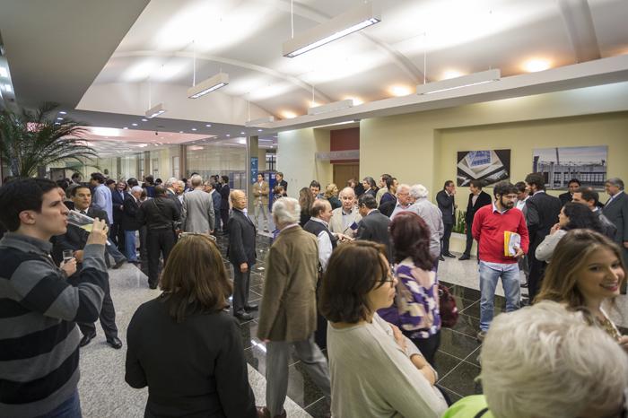 2014 - Inauguração da nova Biblioteca
