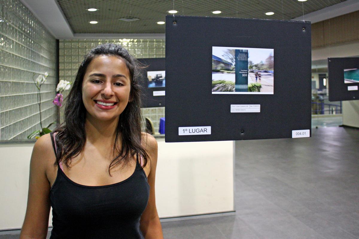 Nathália Castanho, vencedora do concurso