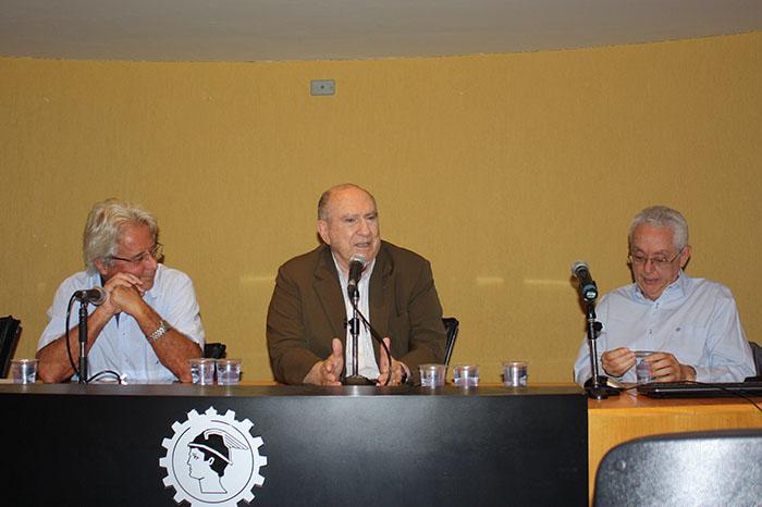 Prof. Sérgio de Iudícibus na homenagem ao Prof. Eliseu Martins