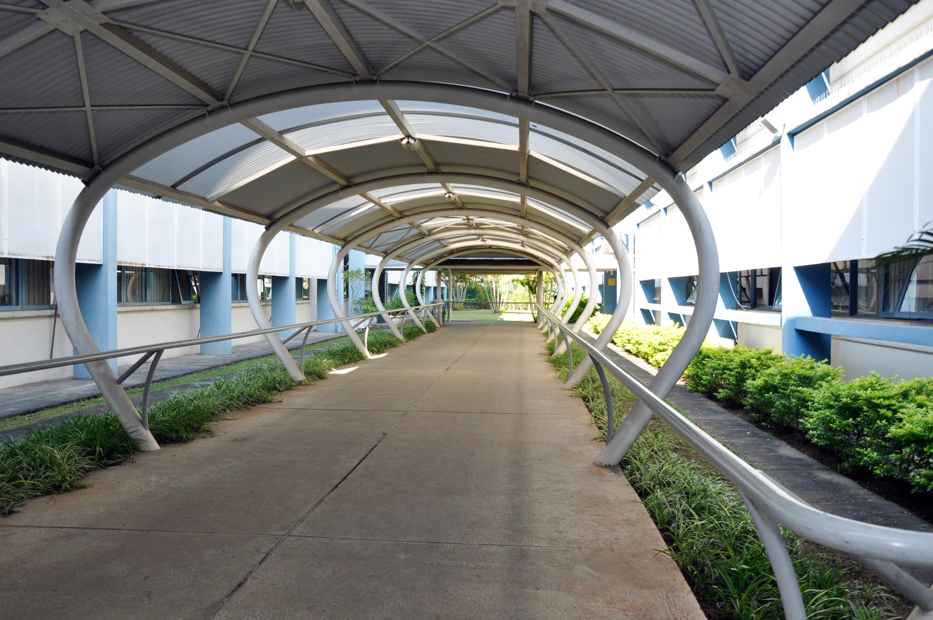 Entrada para prédios FEA 2 e3