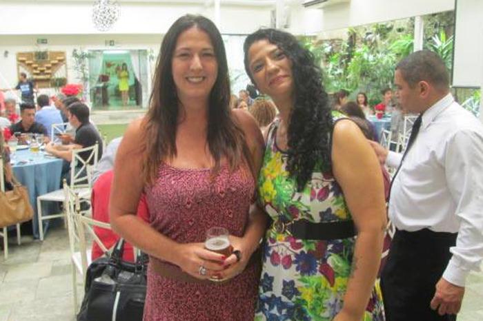 Renata Laurito e Clair Cruz