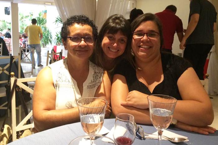 Anay, Marcia e Priscila