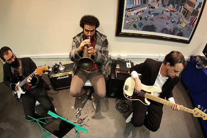 Apresentação musical durante o Congresso