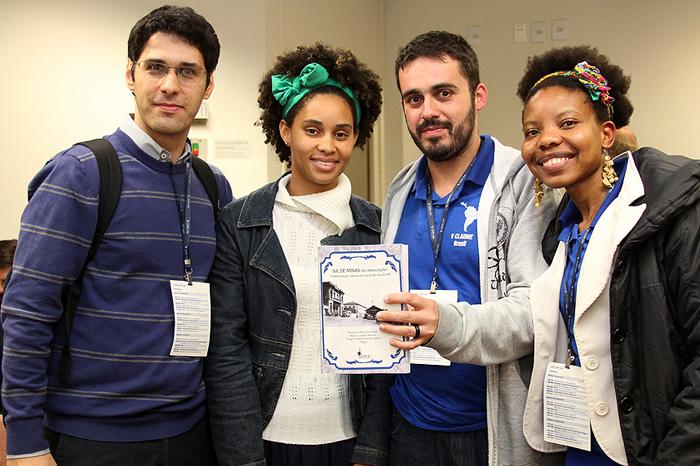 Professor Alexandre Saes com congressistas