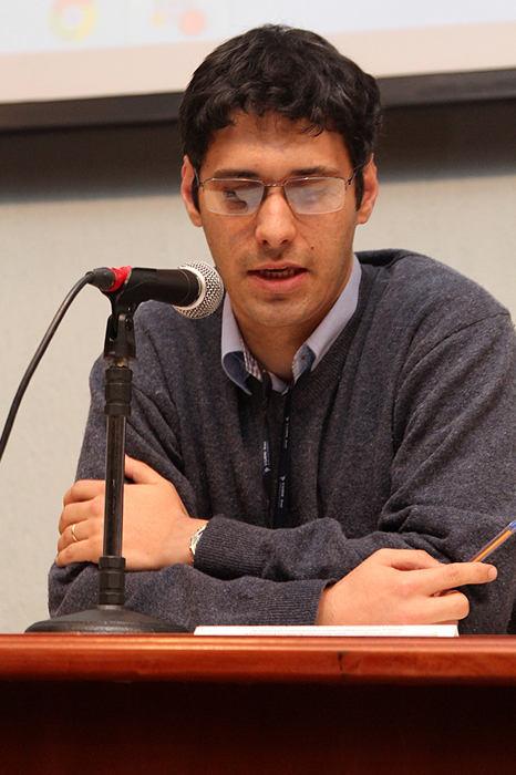 Professor Alexandre Saes, organizador do Congresso