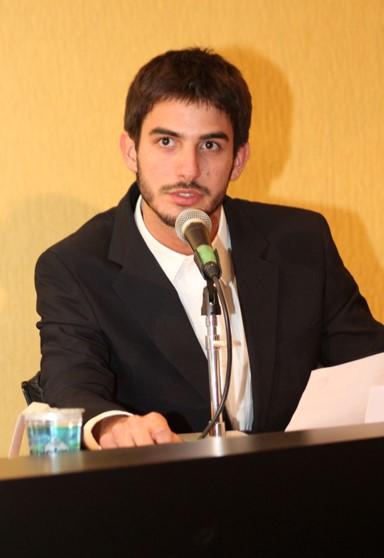 Foto com um palestrante