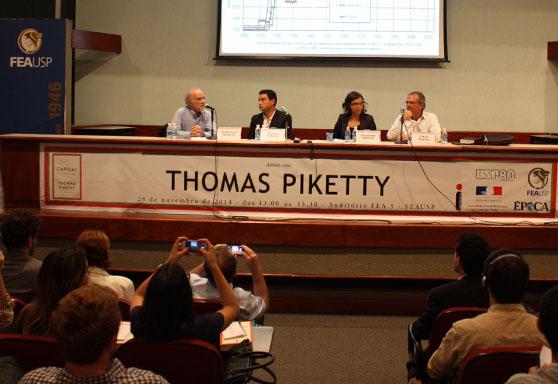 Thomas Piketty na FEAUSP