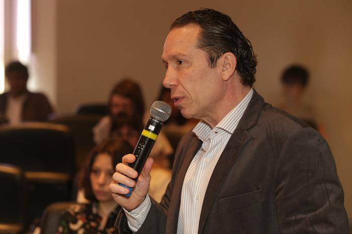 Prof. Marcelo Pedroso é um dos participantes do evento
