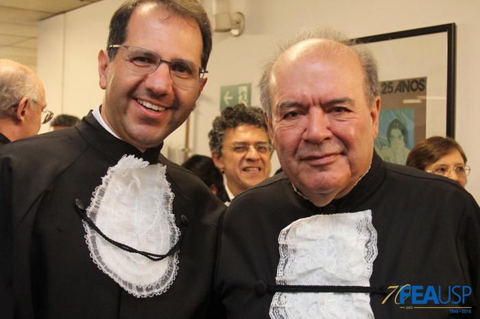 Professores Eduardo Haddad e Denisard