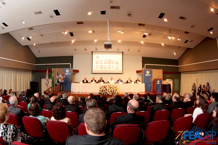 Cerimônia professores eméritos