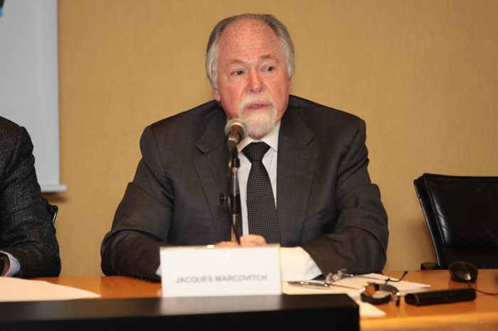 Prof. Jacques Marcovitch, coordenador do Ciclo de Palestras