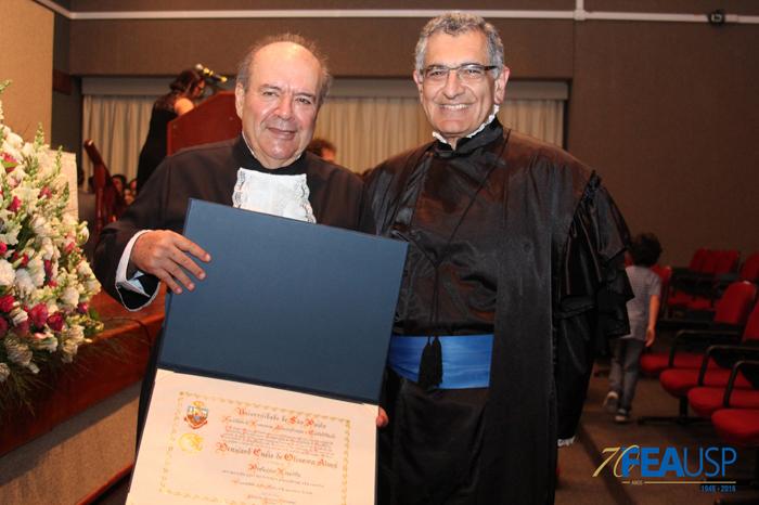 Prof. Denisard e Prof. Vahan