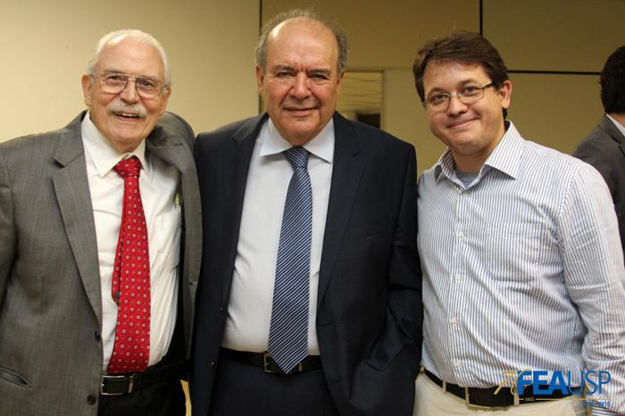 Professor Denisard com os professores Campino e André Chagas