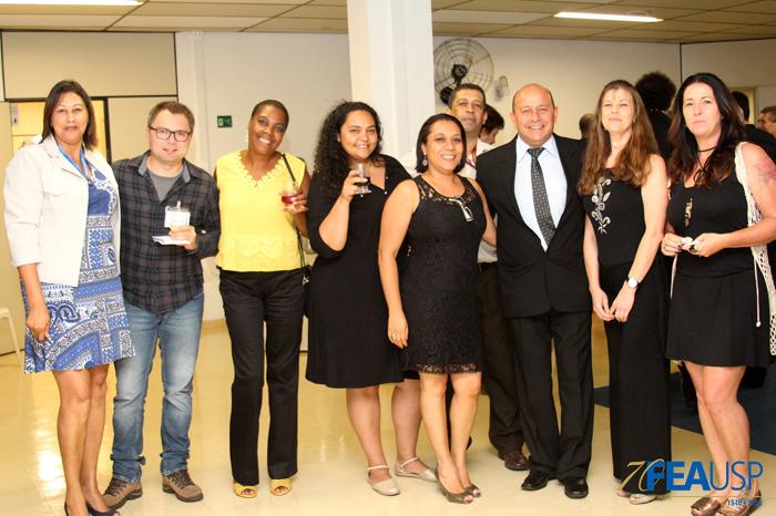 Funcionários da FEA prestigiaram os novos professores eméritos