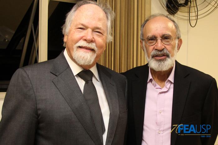 Prof. Jacques com Prof. Plonski