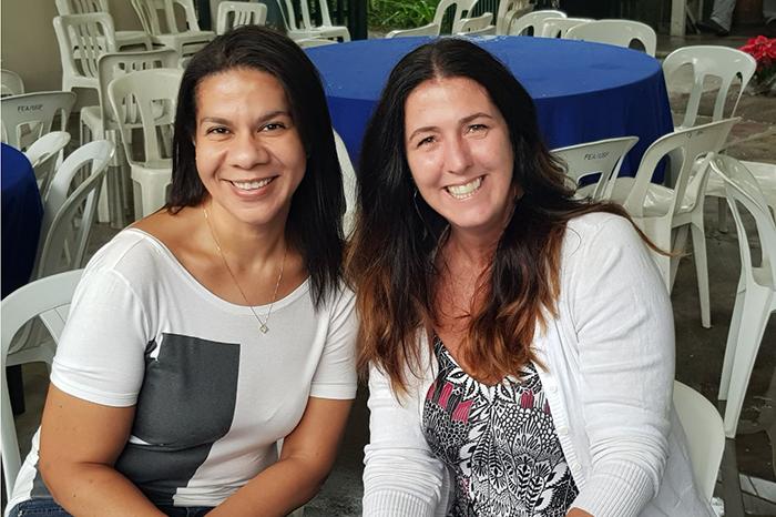 Andrea Ximenes e Renata Laurito