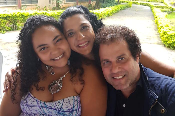 Angélica, Clair e Castro
