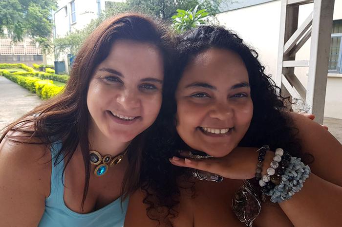 Isabel e Angélica