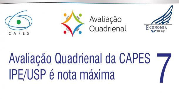 Avaliação Quadrienal da CAPES - IPE/USP é nota 7