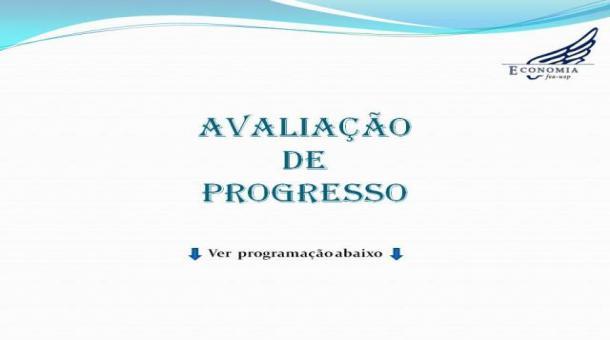 Avaliação de Progresso
