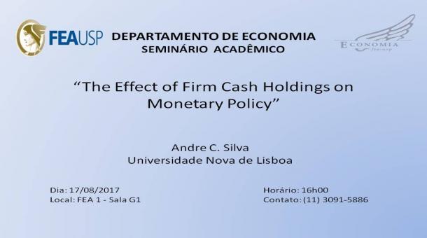 Seminário Acadêmico - 17/08/2017