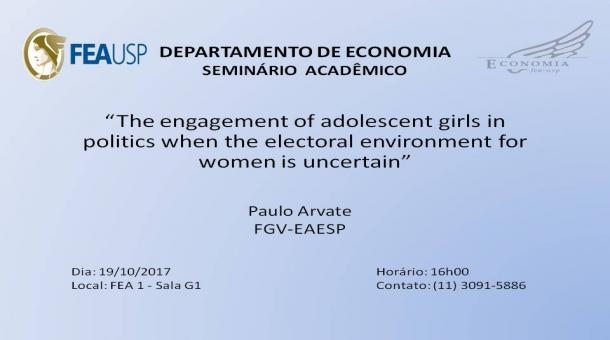Seminário Acadêmico - 19/010/2017