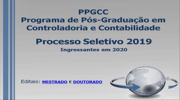 PPGCC - Processo Seletivo 2019/2020