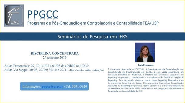 Seminários de Pesquisa em IFRS