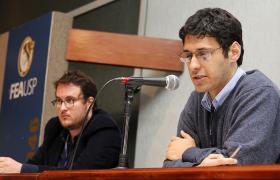 Professores Guilherme Grandi e Alexandre Saes