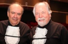 Professores eméritos Denisard Alves e Jacques Marcovitch