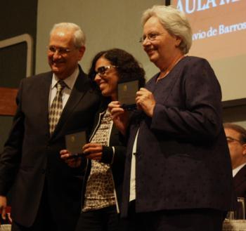 Professores premiados