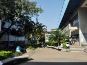 Jardins internos da FEA