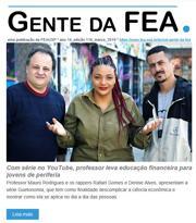 Capa do Gente da FEA - Março de 2019