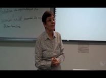 Profa. Denise Cyrillo em aula