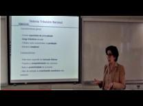 Professora Maria Helena Zockun ministrando a 9º aula do projeto