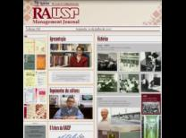 Imagem da revista criada como representação da RAUSP