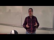 O professor José Carlos ministrando a 10º aula do projeto