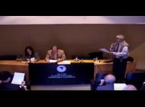 Prof. Dr. Gilmar Masiero e Prof. Dr. Roberto Sbragia durante a Mesa de Abertura do Congresso